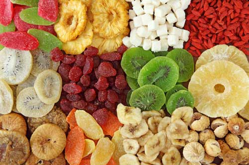 Dried Fruits (Kiwi, Mango, Blueberry, Pineapple, Strawberry and many more)